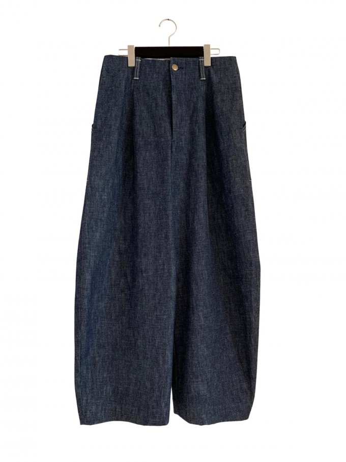 『ASEEDONCLOUD』 HW wide trousers (デニム)