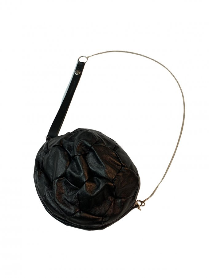 『BLESS』N°20 Footballbag Leather/サッカーボールバッグ (ブラック)