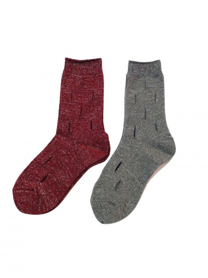 『BANSAN』Hall Mix Knit Socks (新色2カラー)