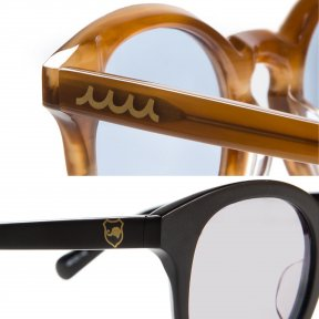 ELEBROU ×muta MARINE BOSTON FRAME SUNGLASSES【全2色】