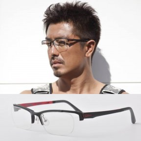 ATHENS SPORTS - Red Clear Lens