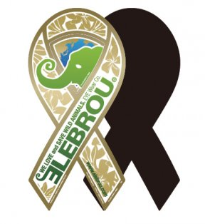 Wild Animal Foundation Magnet Ribbon