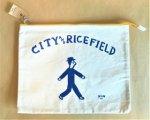 CITY&RICEFIELD クラッチバッグ(黄)