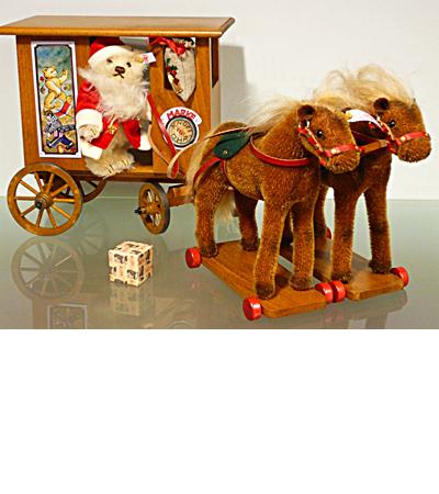 Steiff クリスマス サンタ エクスプレス EAN037986