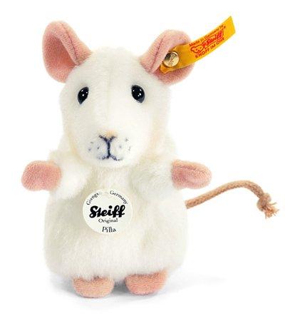 Steiff ピラー マウス ホワイト EAN056215