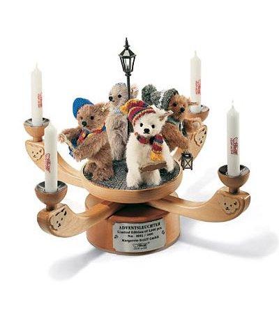 Steiff アドベント クリスマス キャンデレブラム EAN037658