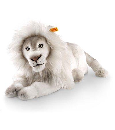 Steiff ホワイト ライオン ティンバ EAN065637