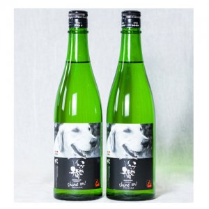 【ファシリティ・ドッグ応援酒】アニーラベル 純米吟醸酒720ml 2本セット&アニーBOOK付き