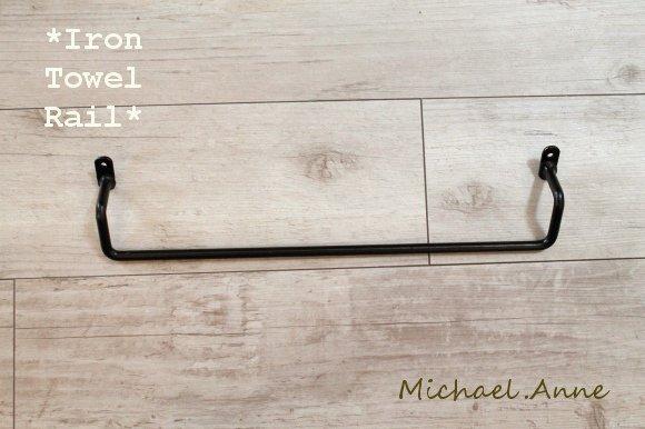 Michael.Anne<br>アイアン<br>シンプルタオルバー M