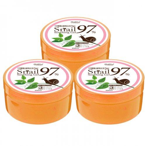 【送料無料】POPSKIN カタツムリエキス97%スーディングジェル 3個セット ★全身に使えるスーディングジェル