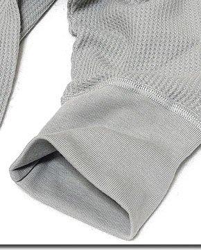 インナーから重ね着まで使い勝手抜群!日本製サーマル5分袖UネックTシャツ!
