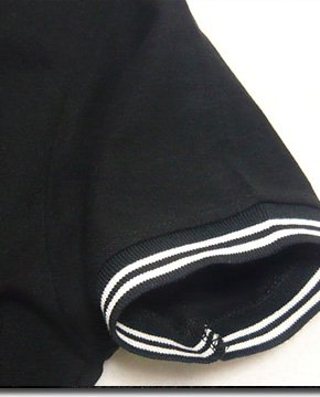 この夏一押し!ユニオンジャックベロア刺繍衿ROCKラインポロシャツ!