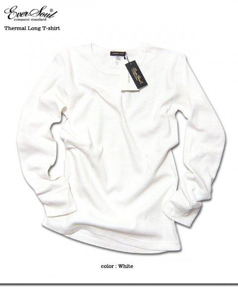 厚手でしっかりとした質感でヘビロテ確実!オールシーズン定番のサーマル長袖Tシャツ!