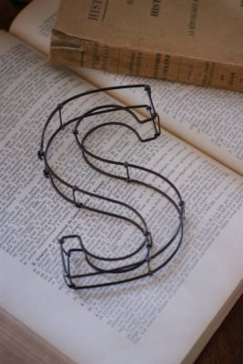 """wire sign""""S"""""""