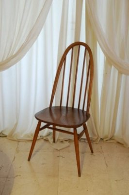 ERCOL クエーカーチェア ライトブラウン.1295