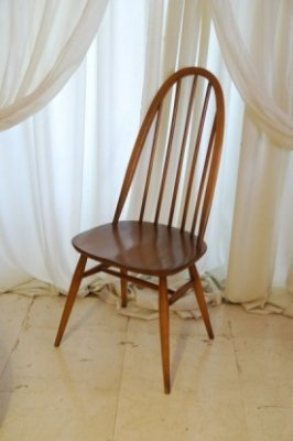 ERCOL クエーカーチェア ライトブラウン.1296