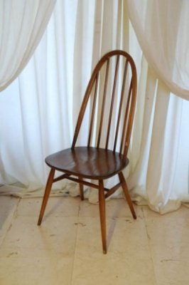ERCOL クエーカーチェア ライトブラウン.1298