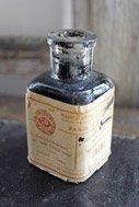 アンティーク インクボトル瓶・Ebene【ballan】