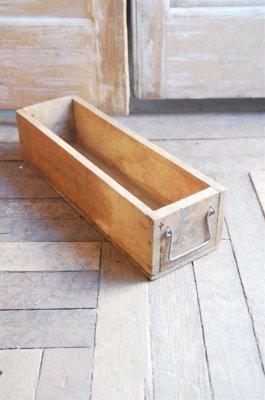 ビンテージ ウッドボックス(narrow box)