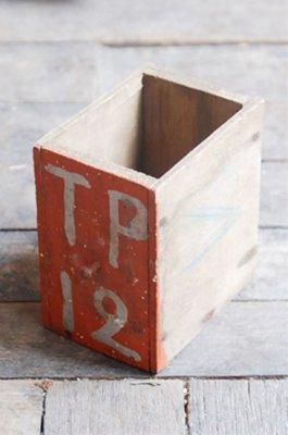 ビンテージペイントウッドボックス(TP12)