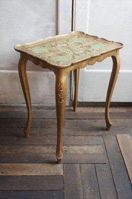 アンティーク サイドテーブル(フィレンツェ製)
