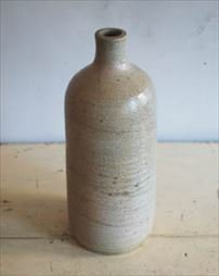 アンティーク 陶器ボトル.a