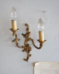 アンティーク ウォールランプ(2灯)