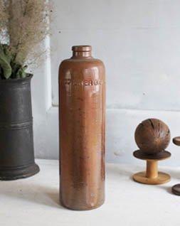 アンティーク 陶器ボトル.c