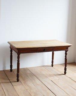 アンティーク 1ドロワーテーブル