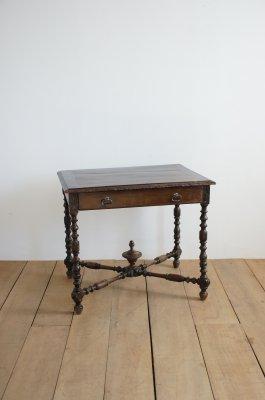 アンティーク ツイストレッグテーブル