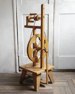 木製 糸巻き機