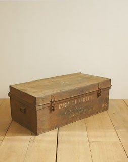 ヴィンテージ メタルボックス(イギリス軍)