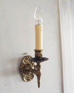 アンティーク ウォールランプ (1灯)