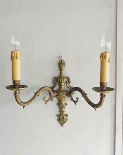 アンティーク ウォールランプ.b (2灯)