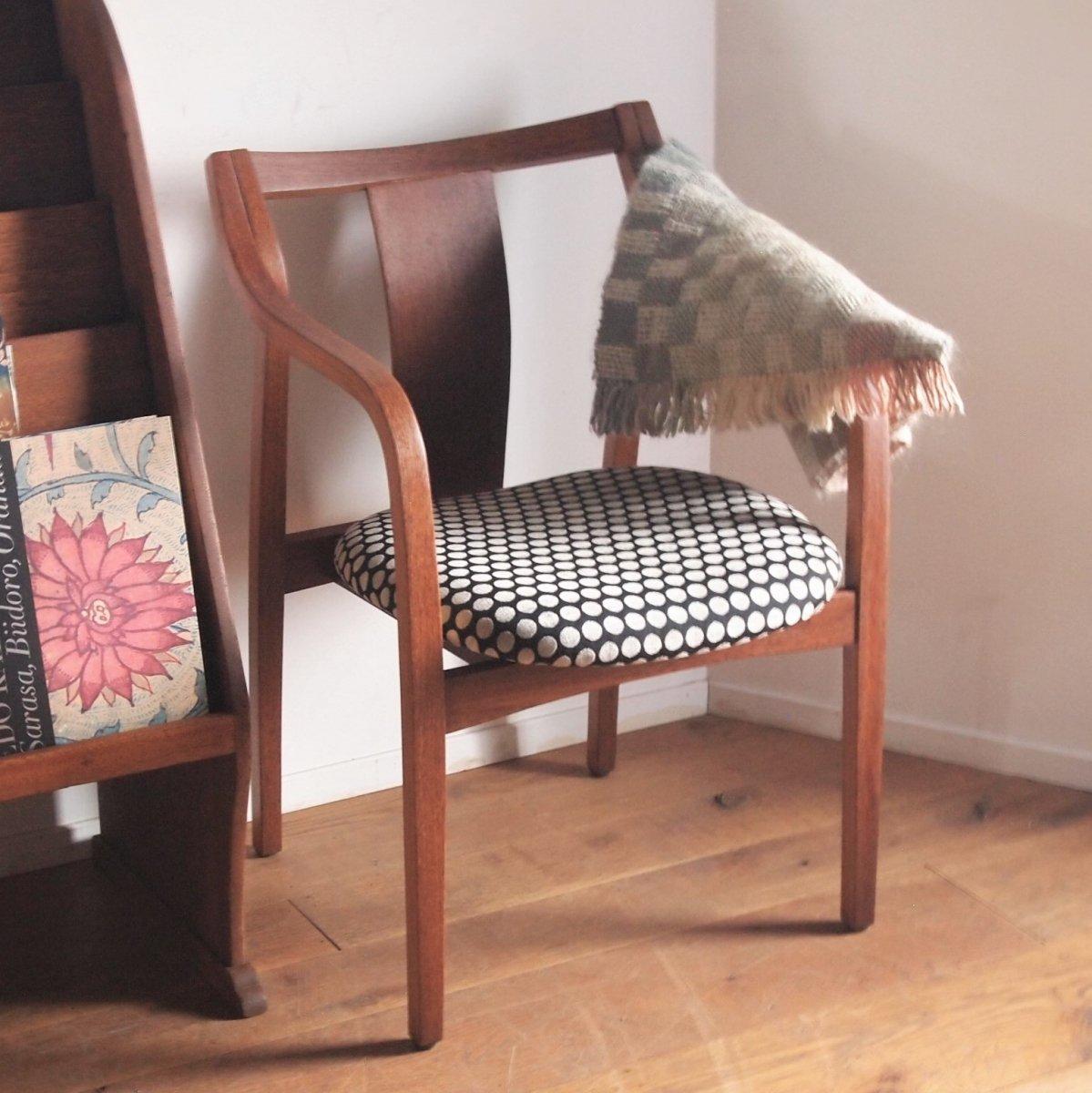チェア/背付き椅子(ドット)
