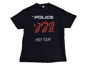 【M】 80's THE POLICE ポリス ロックTシャツ ヴィンテージ 古着