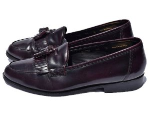 【US9.5D/27.5cm】 フローシャイム ローファーシューズ 革靴中古 FLORSHEIM LOAFER SHOES