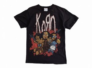 【S】 00's KORN オールド ミクスチャー ロックTシャツ コーン 古着<img class='new_mark_img2' src='//img.shop-pro.jp/img/new/icons1.gif' style='border:none;display:inline;margin:0px;padding:0px;width:auto;' />