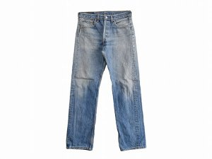 【W31】 90's USA製 リーバイス 501 デニムパンツ ジーンズ ヴィンテージ Levis 古着<img class='new_mark_img2' src='//img.shop-pro.jp/img/new/icons1.gif' style='border:none;display:inline;margin:0px;padding:0px;width:auto;' />