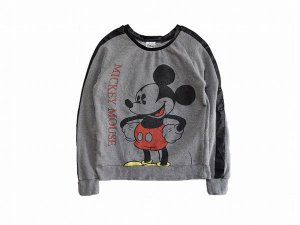 【M】 10's ディズニー ミッキーマウス スウェット カットソー トレーナー ミッキー キャラクター キッズ/レディース古着 Disney Mickey<img class='new_mark_img2' src='//img.shop-pro.jp/img/new/icons1.gif' style='border:none;display:inline;margin:0px;padding:0px;width:auto;' />