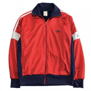 【S/M】 80's アディダス ヴィンテージ トラックジャージ 襟付き 切り替えし 2トーン ジャージ スポーツ adidas メンズ アメリカ古着<img class='new_mark_img2' src='//img.shop-pro.jp/img/new/icons5.gif' style='border:none;display:inline;margin:0px;padding:0px;width:auto;' />