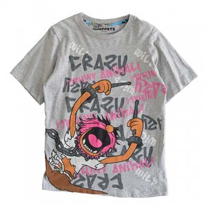 【XS】 10's ディズニー マペッツ キャラクターTシャツ Disney THE MUPPETS レディースXS相当 アメリカ古着 <img class='new_mark_img2' src='//img.shop-pro.jp/img/new/icons5.gif' style='border:none;display:inline;margin:0px;padding:0px;width:auto;' />