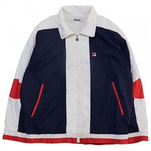 【L】 80's イタリア製 フィラ ヴィンテージ ナイロンジャケット FILA USA42 メンズL スポーツジャケット アメリカ古着<img class='new_mark_img2' src='//img.shop-pro.jp/img/new/icons5.gif' style='border:none;display:inline;margin:0px;padding:0px;width:auto;' />