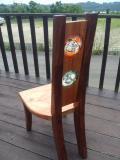琉球ガラス入り椅子