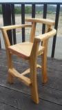 琉球松の子供椅子