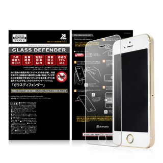 GLASS DEFENDER ■FRONT-CLEAR(0.4mm)for iPhoneSE/5S/5