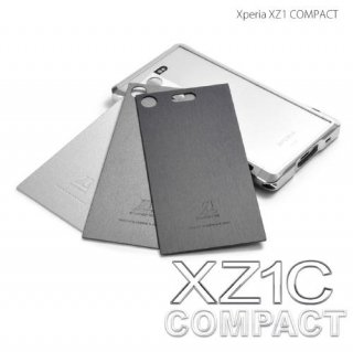 背面パネル:LEATHER BACK DEFENDER for Xperia XZ1C(COMPACT)