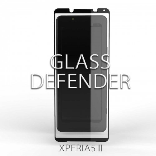 <img class='new_mark_img1' src='https://img.shop-pro.jp/img/new/icons1.gif' style='border:none;display:inline;margin:0px;padding:0px;width:auto;' />GLASS DEFENDER for XPERIA5II (SILK PRINT-2.5D)