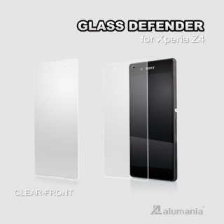 GLASS DEFENDER ■FRONT-CLEAR(0.33mm)for Xperia Z4