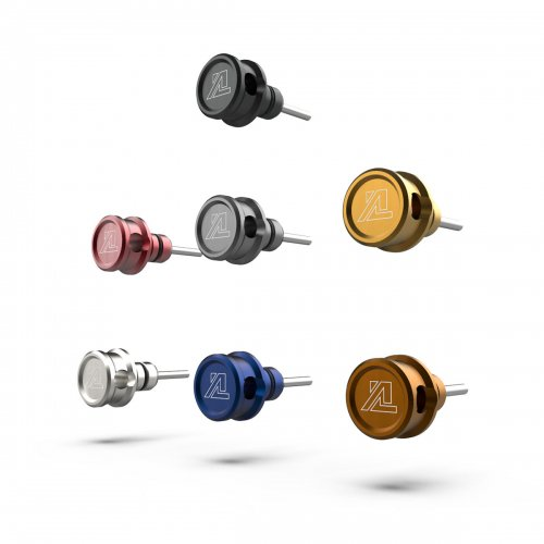 ALUMINUM BILLET HEADPHONE CAP for 3.5mm PLUG